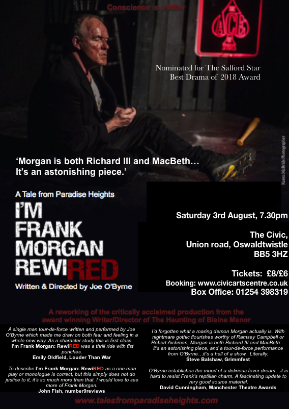 I'm Frank Morgan: RewiRED - Tales from Paradise Heights